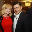 90 Kim Padgett and Edward Sanchez at the World AIDS Day luncheon.