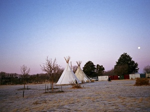 Austin Photo Set: News_Ramona_El Cosmico_Marfa_feb 2012_tee pee1