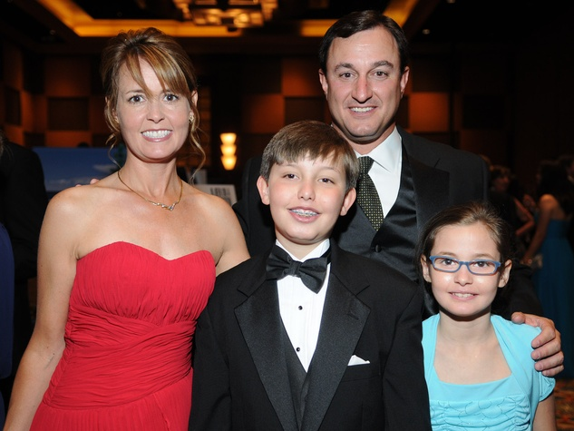 News_JDRF Promise Ball_Men on a Mission_April 2012_Paige Fass_Jackson Fass_Alden Fass_Richard Fass