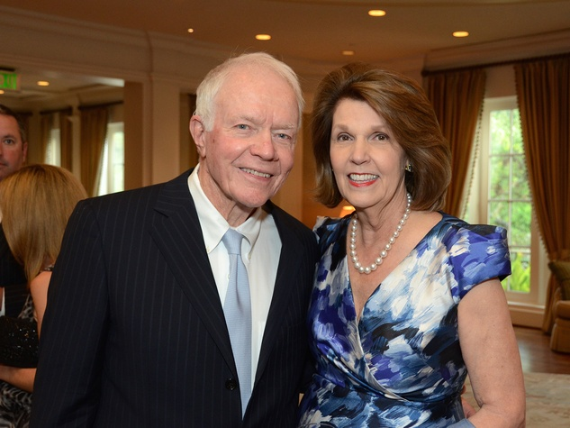 10 Thurman and Lilly Andress at the Broach Foundation Gala May 2014