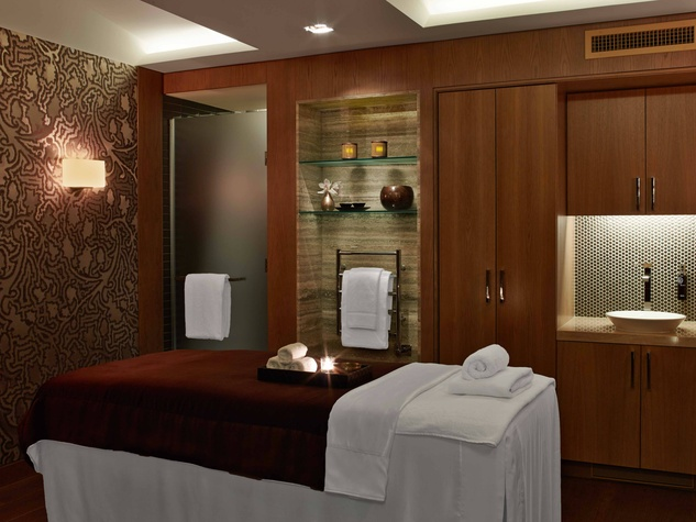 treatment room, ESPA, The Joule