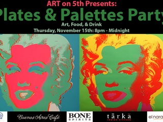 Austin Photo Event_Art on 5th presents Plates and Palettes Party_Nov2012