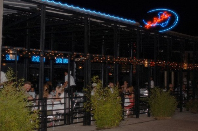Blue fish 39 s sexy sushi double teams houston with two new for Places to go fishing in houston