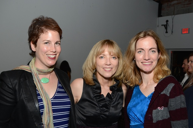 12 Sorcha Landau, from left, Kellye Sanford and Allison Hunter at the DiverseWorks Fashion Fete November 2014