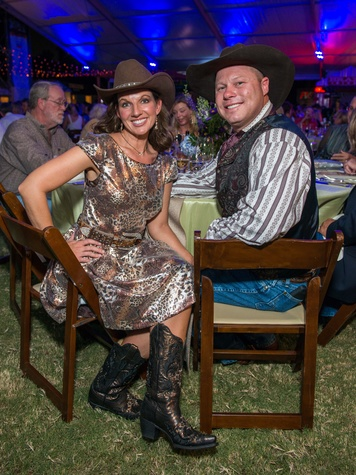 27 Sarah and Ron Ringstaff at the Nature Conservancy 50th anniversary October 2014