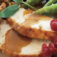 News_Thanksgiving meal_turkey_gravy_green beans