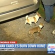 Roman candles burn down Conroe home January 2014