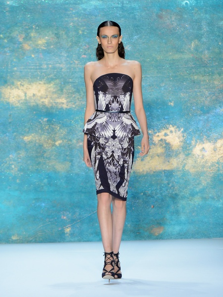 Clifford, Fashion Week spring 2013, Monique Lhuillier 1