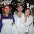 David Andrus, from left, Megan Bickett, Avery Ely and Andrew Bohon at the Urban Green Birthday en Blanc May 2014