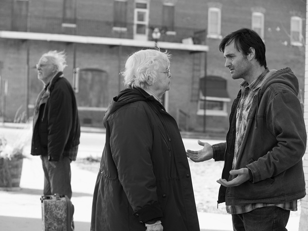 Bruce Dern, from left, June Squibb and Will Forte in Nebraska