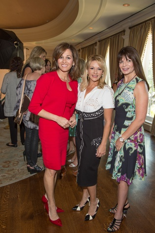 Houston, I Am Waters Luncheon_May 2015, Janet Shamlian, Jade Ausley, Annette Renaud