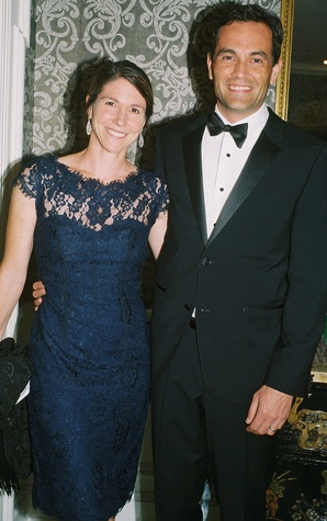 23 Jill and Joe Karlgaard at the In Rice's Honor dinner October 2014