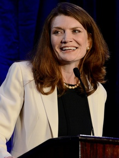 Jeannette Walls at Orix Foundation Dinner in Dallas