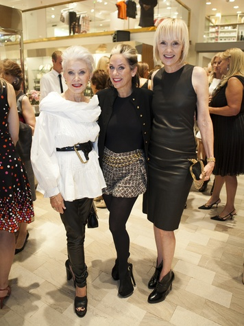 Jennie Reeves, Lucy Wrubel, Erin Matthews, Crystal Charity Ball, Alexander McQueen