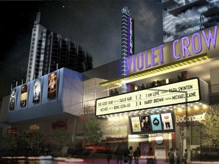 Austin Photo: Places_movies+film_violet crown cinema_exterior
