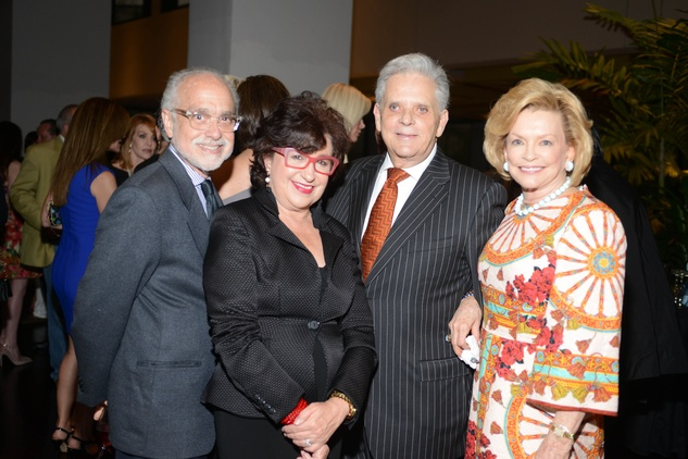 11 1752 Alan and Roz Pactor, from left, and Victor and Jerry Ann Costa at the Jonathan Blake fashion party April 2014