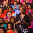 Lifeclass, Oprah, live streaming, October 2012, audience, crowd