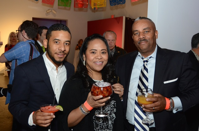 Center for Contemporary Craft, Margarita Madness, Jan. 2016, Blaize, Naomi and Kendrick Middleton