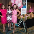 Jodi Powell, from left, Michelle Martere and Cindy Burgos at the In the Pink luncheon in The Woodlands October 2013