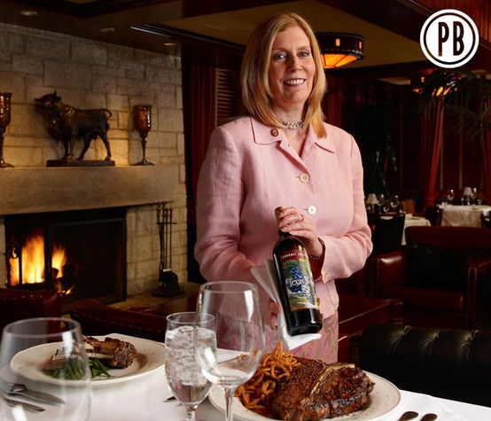 Master Sommelier Barbara Werley of Pappas Bros. Steakhouse in Dallas
