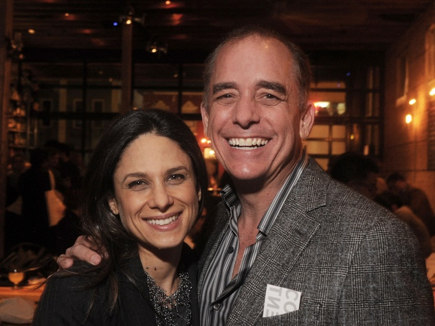 Karen Farber and Jim Peterson at the CounterCurrent Kick-Off March 2014
