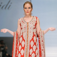 Look from Sameera Faridi at Fashion Houston Sept. 2014