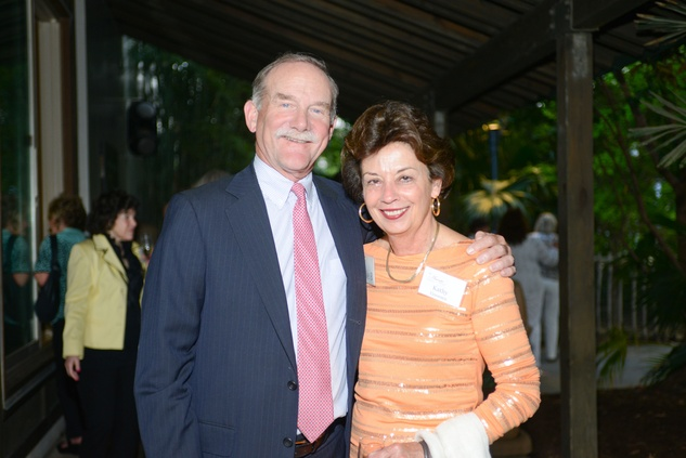 84 Marty and Kathy Goossen at the Houston Zoo Asante Society dinner April 2014