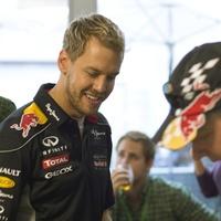 Formula One Driver Sebastian Vettel during signing at U.S. Grand Prix
