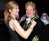 News_Momus Coronation Feb. 2011_Paige Fertitta_Tilman Fertitta