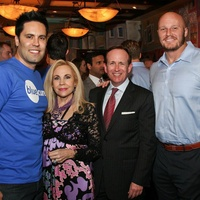 Blue Cure April 2013 Gabe Canales, Carolyn Farb, John Danielson, Chris Myers