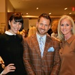 16 Lara Kopriva, from left, Jeff Shell and Christine Tabrizi at the Recipe for Success' Dress for Dinner