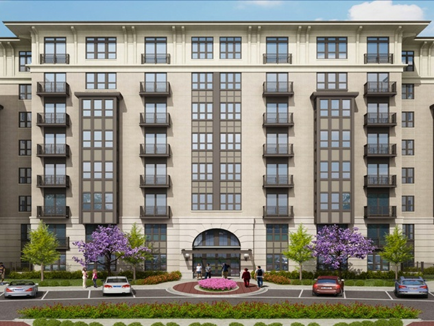 The Susanne Luxury Apartments rendering Montrose complex fire April 2014
