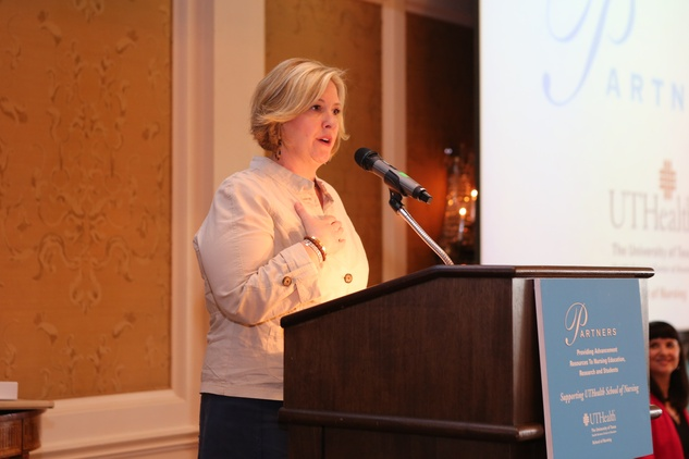 Partners Luncheon 4/16, Brene Brown