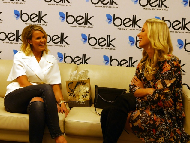 Courtney Kerr and Nicky Hilton, Belk book signing