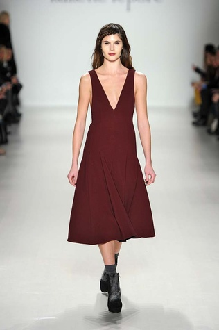 Nanette Lepore fall 2014 collection look 1