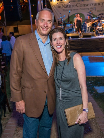 21 Bobby and Phoebe Tudor at the Nature Conservancy 50th anniversary October 2014