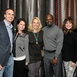 Brad and Erin Struck, Sharon Morrison, Emmitt Smith, Ronelle and Pete Lanace, the great adventure hunt