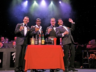 "Society for the Performing Arts presents ""The Rat Pack is Back!"""