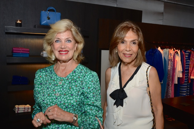 News, Shelby, Latin Women's Initiative reception, May 2015,    Maria Palle, Melanie Serian