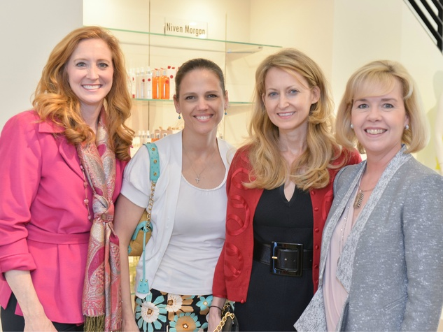 Tiffany Divis, Angie Kadesky, Lynn McBee, Christie Carter, Can Do Kickoff at Tootsies