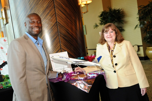 Houston, Kick Out Kidney Disease Luncheon, May 2015, Leon Kinloch, Kathy Pigue