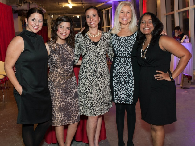 Melissa Sherrill, Shivangi Pokharel, Nicole Farrar, Anne Lacy, Manju Alexander, the family place partners card party