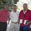 Jack Dinerstein, from left, Dr. Michael Reardon and John Madden Houston Methodist in Aspen July 2014