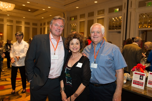 40 Morten Anderson, from left, with Laurie and Wade Phillips at the Dan Pastorini golf benefit October 2014