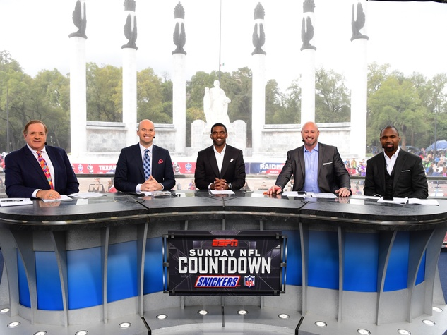 ESPN Sunday NFL Countdown in Mexico City