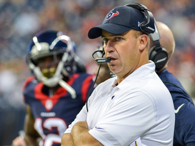Bill O'Brien Texans Falcons sideline