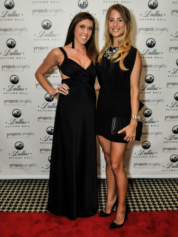 Kaitlan Moczulski, Christie Allardyce, Dallas Autumn Ball, Hotel Zaza