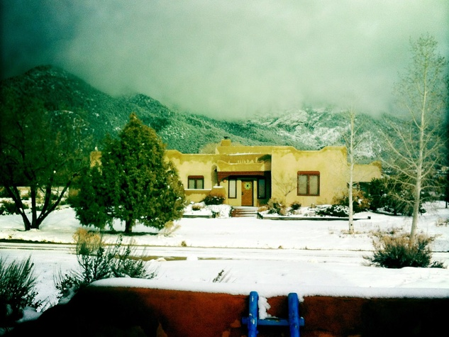 14, Marlo Saucedo, Taos, New Mexico, February 2013, winter in Arroyo Seco