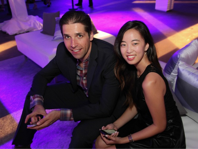 Aaron Anderson, Natassia Trinh, Gilt City Warehouse Sale