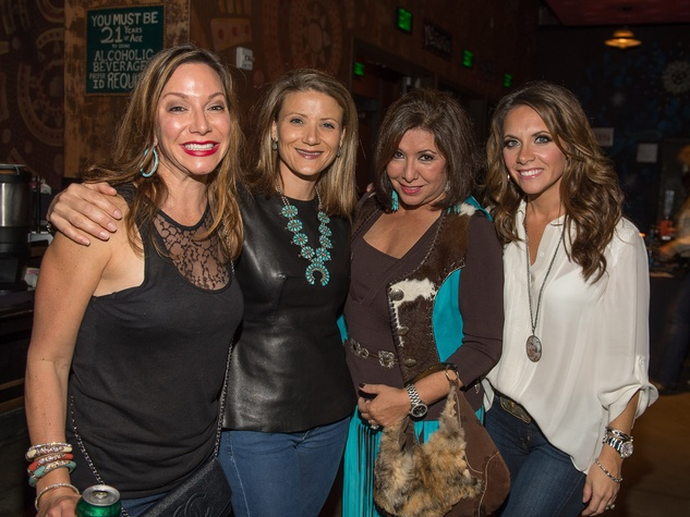 211 Tama Klosek, from left, Stephanie Cockrell, Debbie Festari and Joanna Marks at Bands Against MS